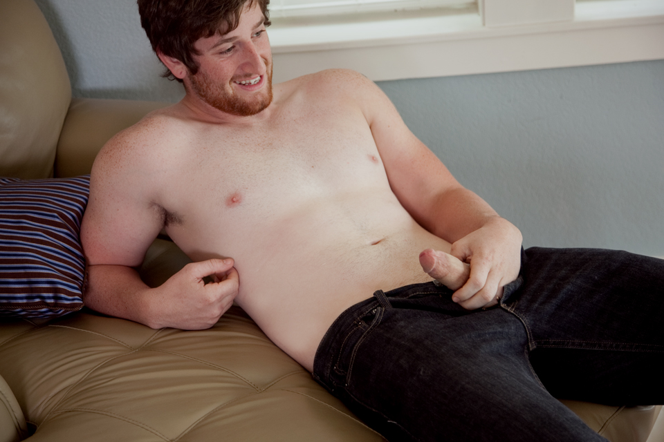 Southern Strokes Justin Redhead with Uncut Cock Jerkoff 04 Amateur Straight Red Headed Texas Redneck Jerks His Big Uncut Cock