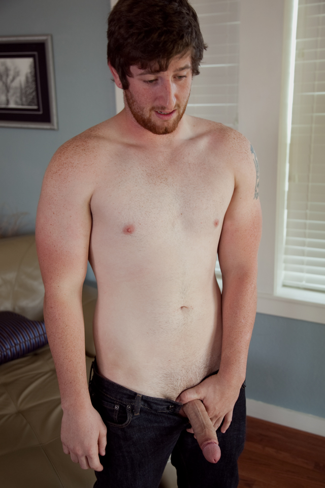 Southern Strokes Justin Redhead with Uncut Cock Jerkoff 05 Amateur Straight Red Headed Texas Redneck Jerks His Big Uncut Cock