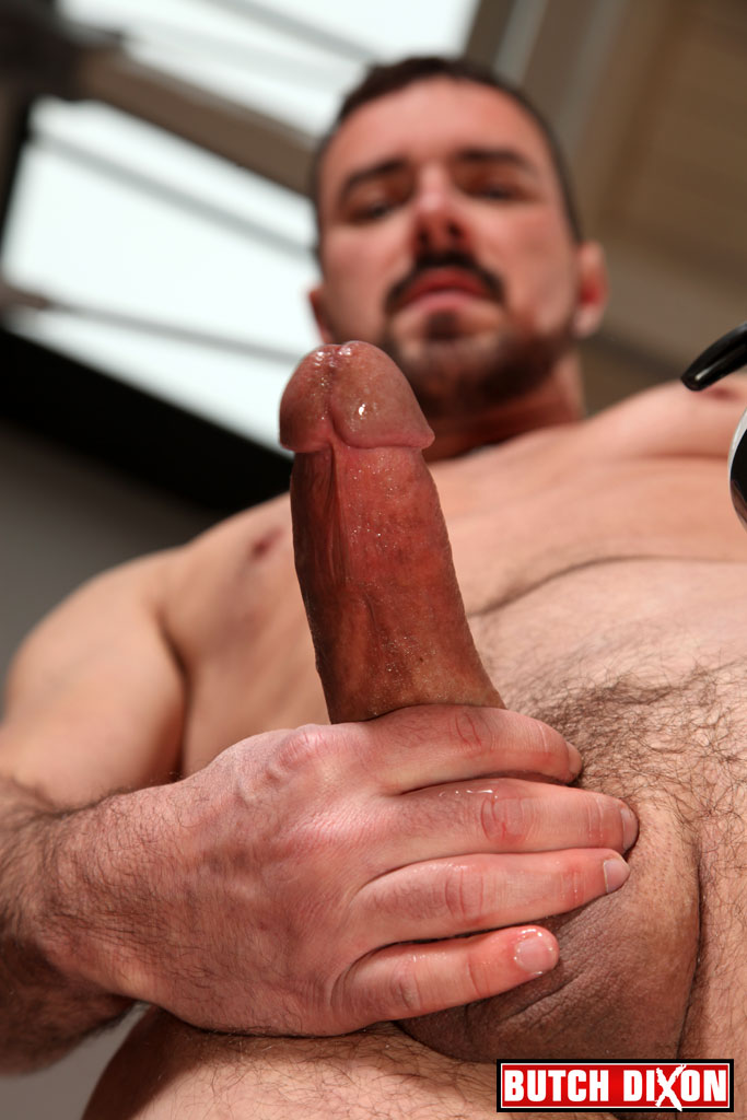 "Butch-Dixon-Jake-Driver-Huge-Cock-10-inch-cock-amateur-masturbation-masculine-man-11 Amateur Masculine Straight Stud From Atlanta With A 10"" Cock Jerking Off"