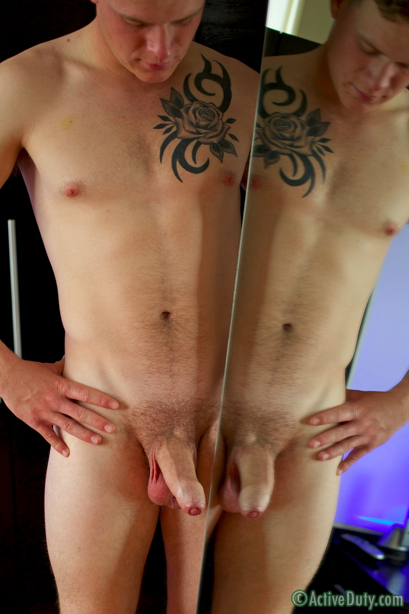 irish uncut Gay cock huge