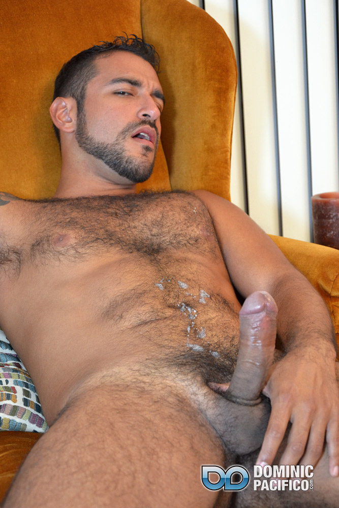 Hairy naked men uncut