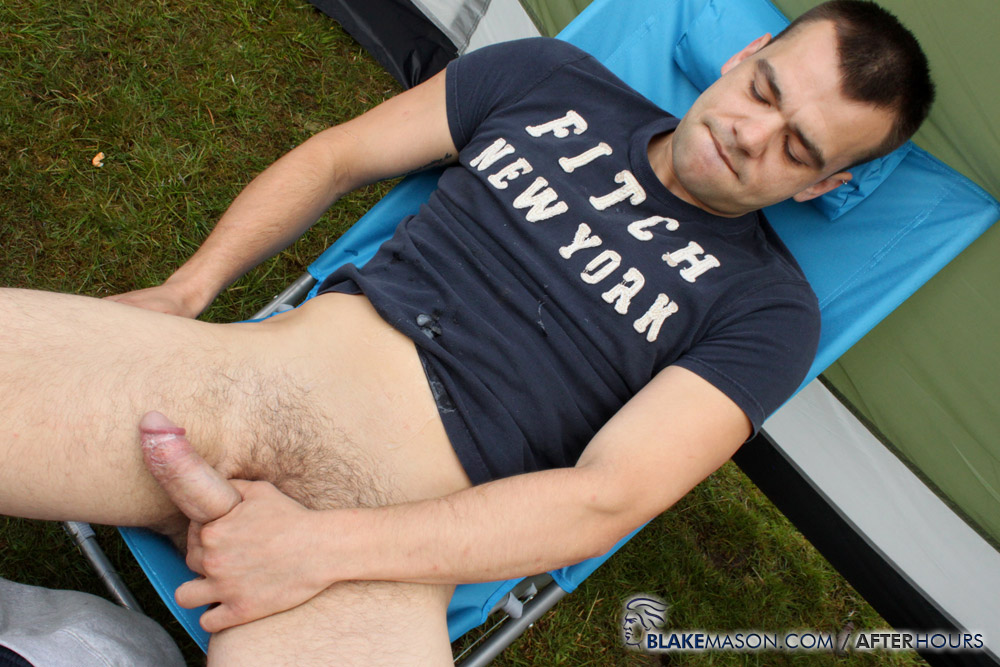 Blake-Mason-Mating-Season-Kai-Fraser-Bradley-Josh-Matt-Riley-Circle-Jerk-Big-Uncut-Cocks-Amateur-Gay-Porn-19 Circle Jerk While Camping With Six Amateur Big Uncut Cock Guys