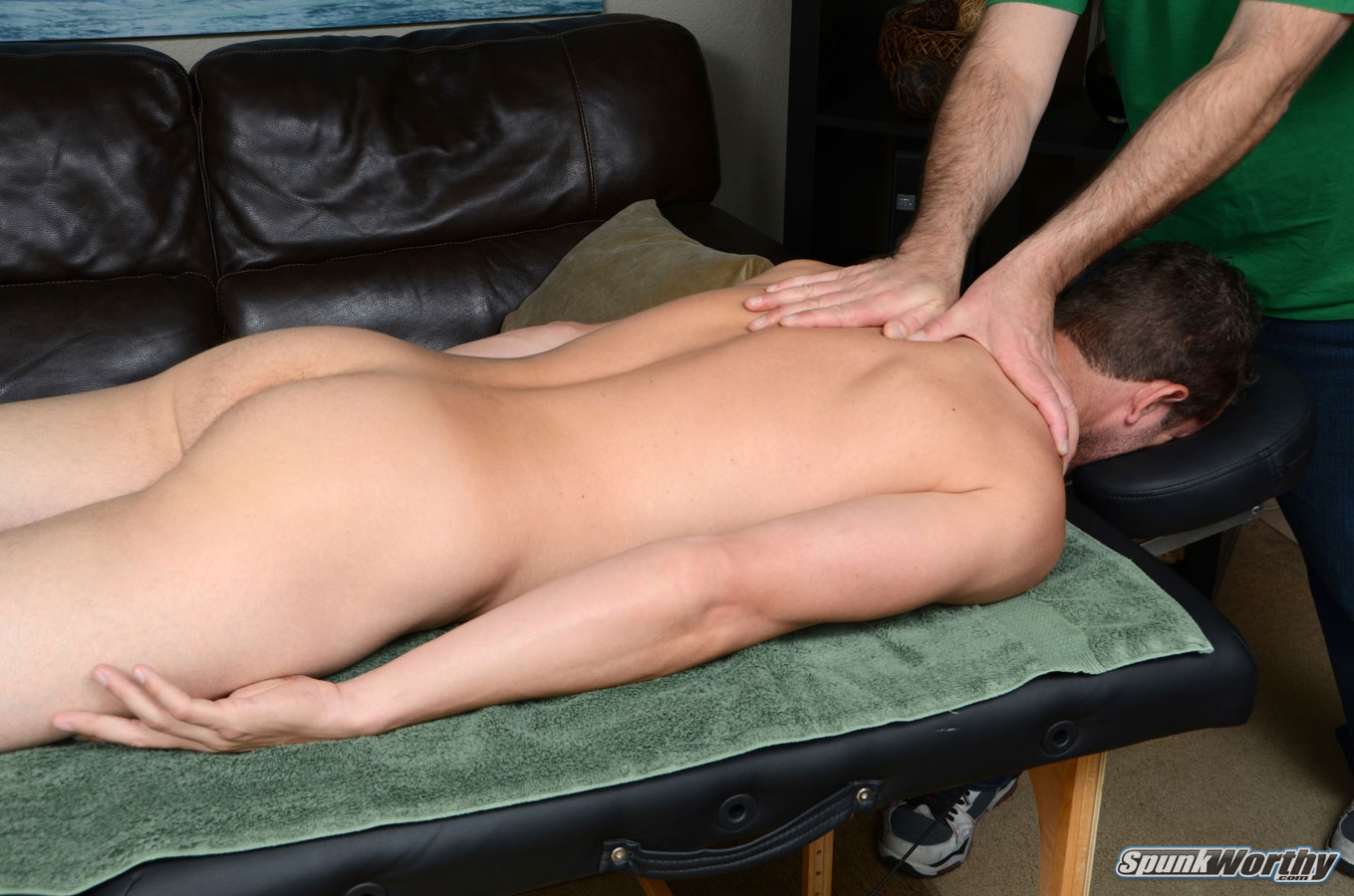 his first massage and happy ending Dallas, Texas