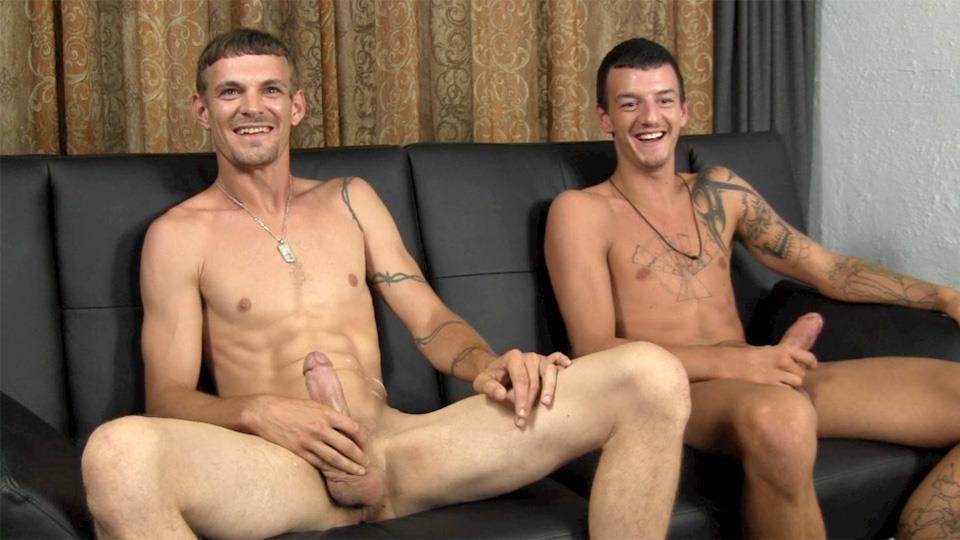Straight-Fraternity-Michael-and-Eddy-Straight-Rednecks-Jerking-Off-Amateur-Gay-Porn-20 Straight Redneck Buddies Jerking Off Together For The 1st Time