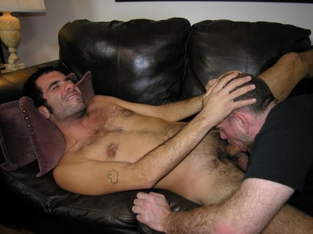 Hairy gay cock sucking