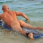 Island-Studs-Justin-Marine-Drill-Sergeant-Stroking-His-Thick-Cock-In-Public-Amateur-Gay-Porn-04-150x150 Amateur Straight Marine Drill Sergeant Jerking Off On A Public Beach