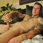 Dirty Tony Conor Michaels Straight Hunk Jerking His Big Cock Amateur Gay Porn 10 150x150 Amateur Straight Hairy Tatted Muscle Hunk Stroking His Thick Cock