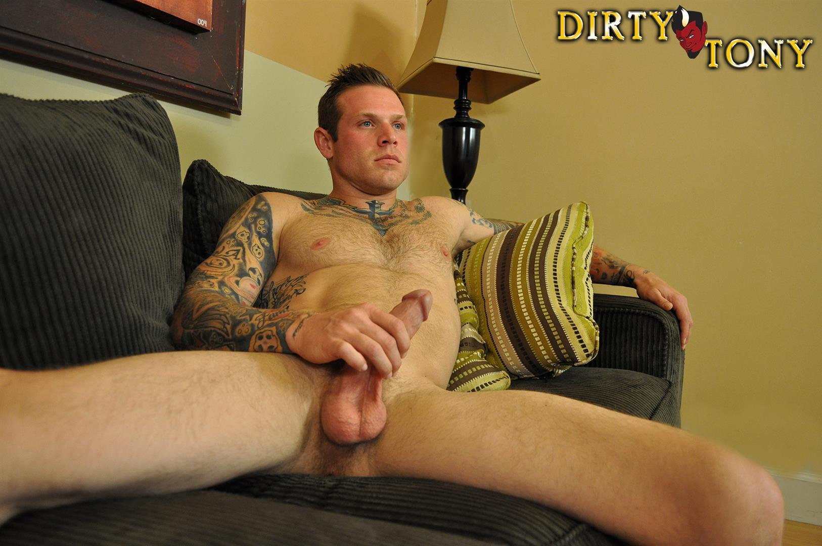 Dirty Tony Conor Michaels Straight Hunk Jerking His Big Cock Amateur Gay Porn 12 Amateur Straight Hairy Tatted Muscle Hunk Stroking His Thick Cock