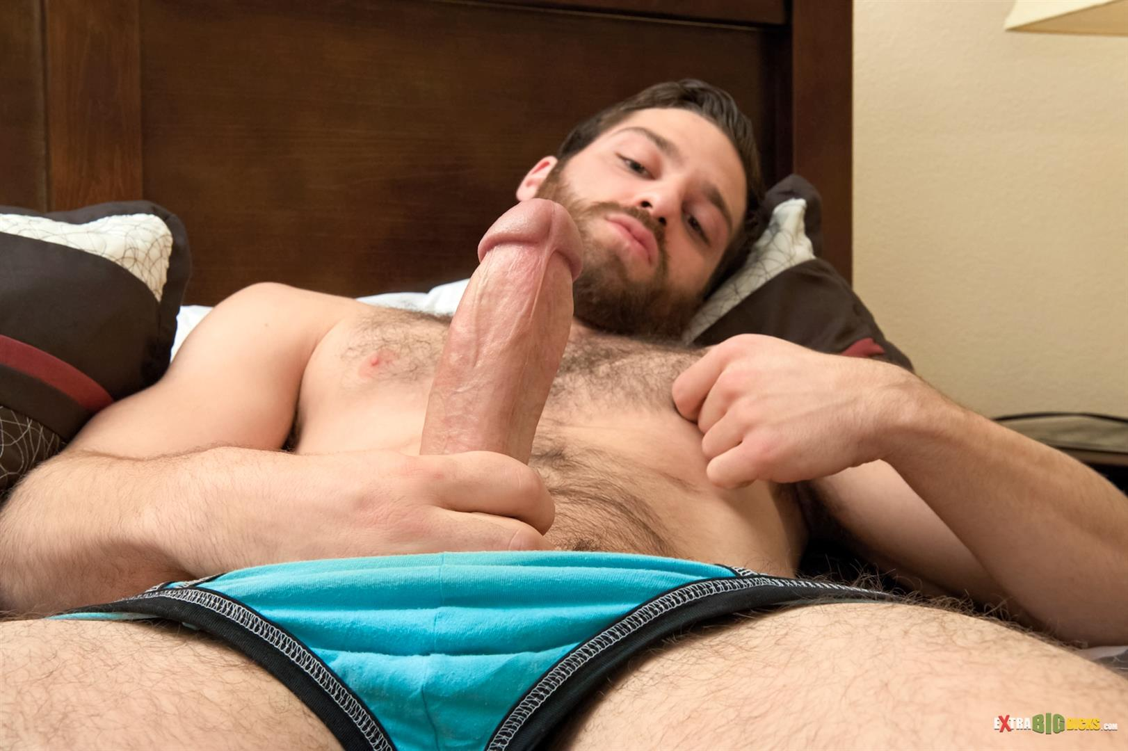 Extra Big Dicks Tommy Defendi Hairy Muscle Guy Jerking Off Amateur Gay Porn 06 Hairy Muscle Stud Tommy Defendi Jerking Off His Big Thick Cock