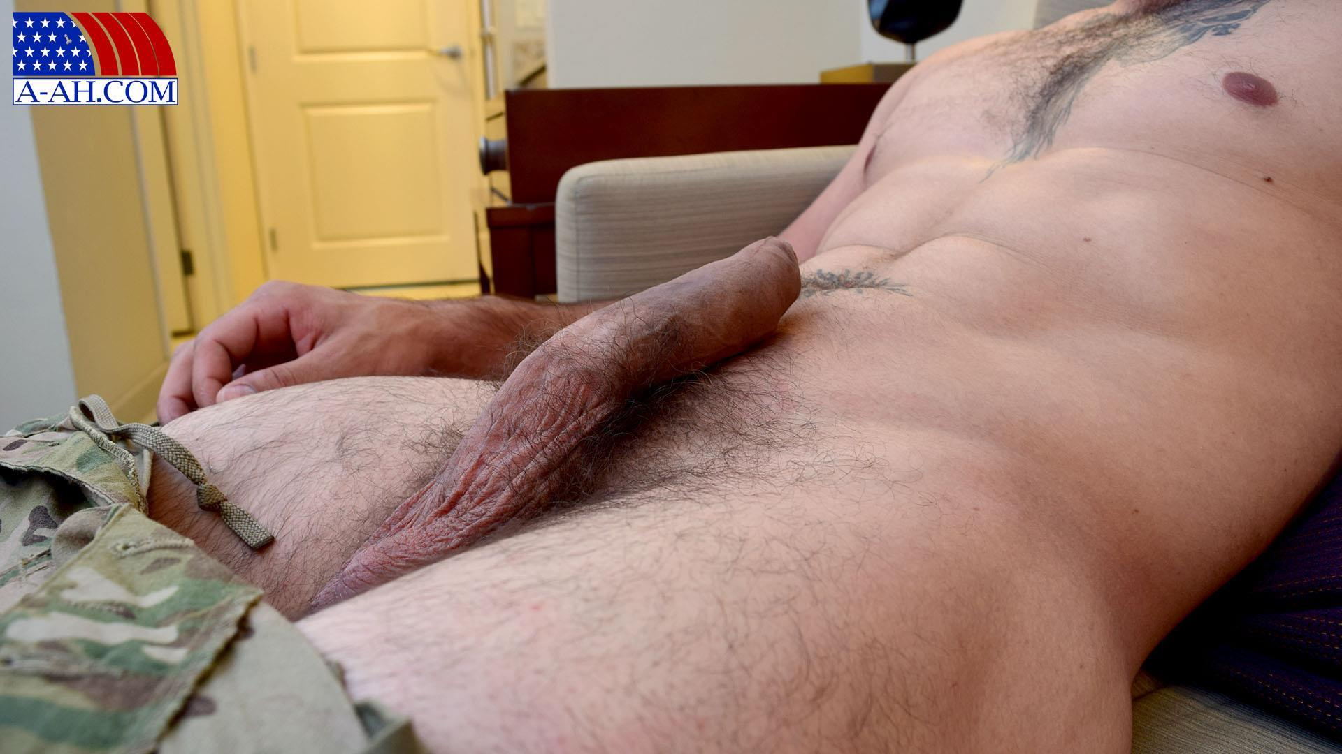 All-American-Heroes-JB-US-Amry-Soldier-Jerking-His-Big-Uncut-Cock-Amateur-Gay-Porn-06 Amateur Straight US Army Specialist Stroking His Big Uncut Cock