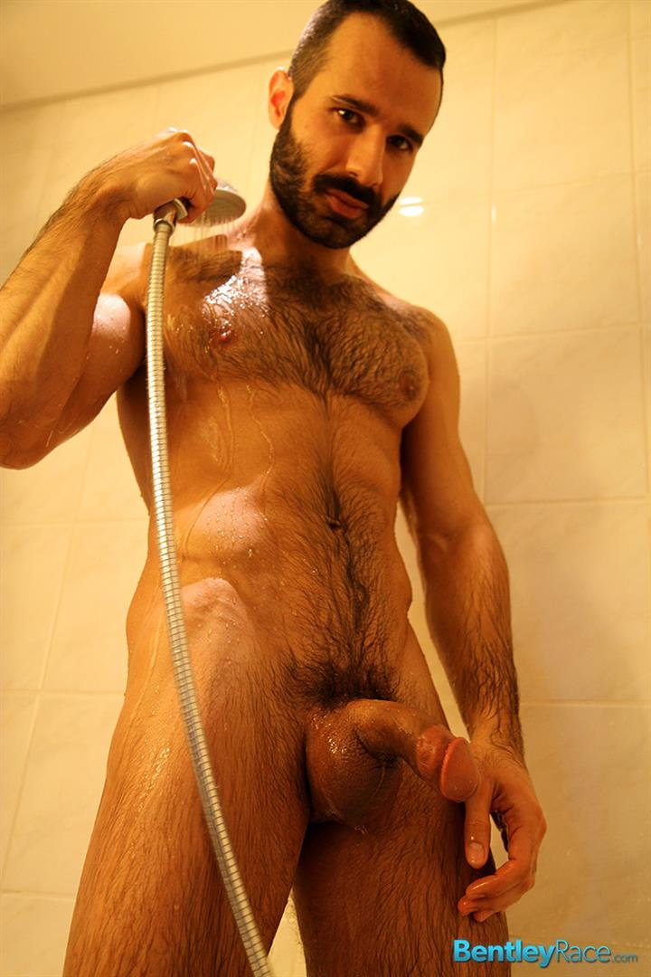 Bentley Race Aybars Hairy Turkish Guy With A Huge Cock Jerking Off Amateur Gay Porn 15 Hairy Turkish Guy Aybars Jerking His Thick Cock In The Shower