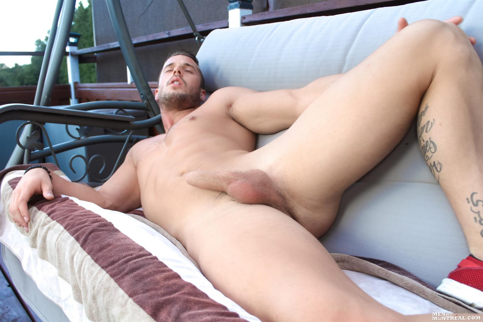Men-of-Montreal-Nathan-Fox-Canadian-Hunk-Jerking-His-Big-Uncut-Cock-Amateur-Gay-Porn-07 Canadian Hunk Nathan Fox Jerking Off His Big Uncut Cock