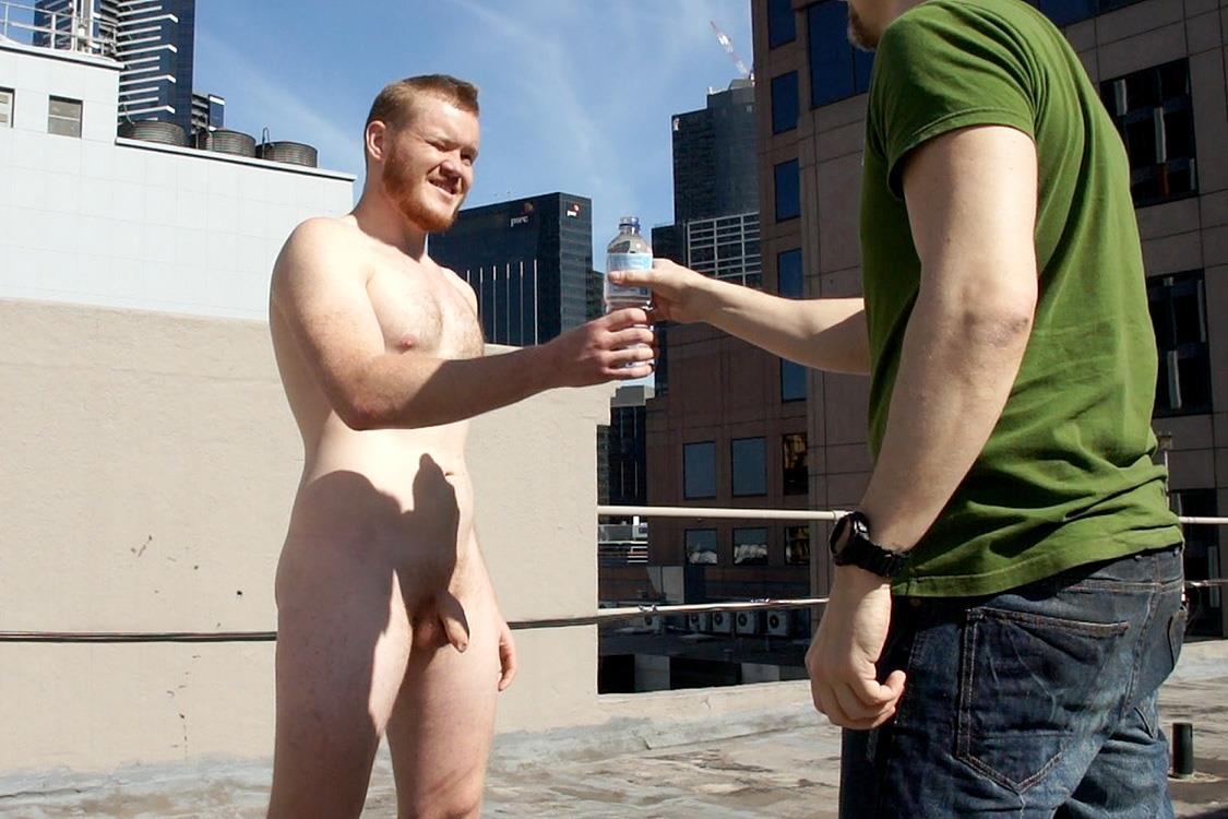 Bentley Race Beau Jackson Beefy Redhead Jerking His Big Uncut Cock Amateur Gay Porn 42 Redhead Aussie Soccer Player Naked and Stroking A Big Uncut Cock
