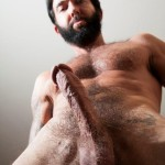 Butch-Dixon-Tom-Nero-Hairy-Daddy-Jerking-Off-A-Big-Fat-Mushroom-Head-Cock-Amateur-Gay-Porn-11-150x150 Hairy Stud Tom Nero Jerking His Thick Mushroom Head Cock