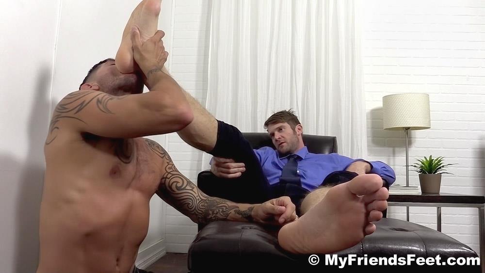 jack off foot fetish
