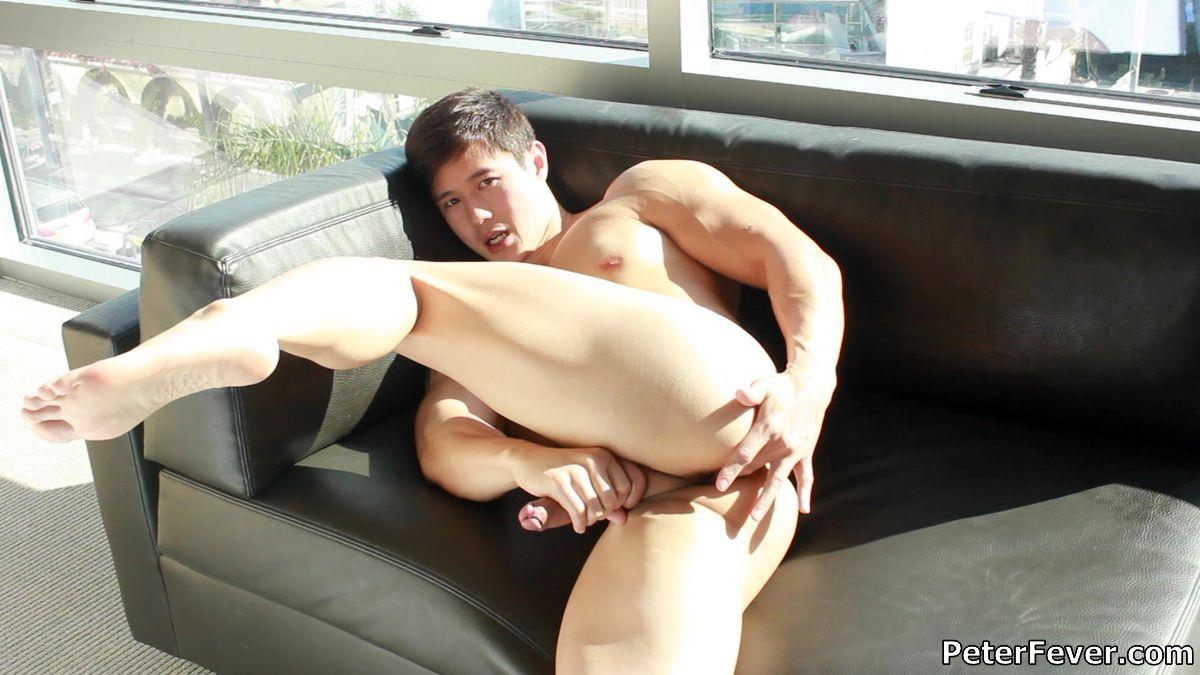 Peter Fever Peter Le Muscular Naked Chinese Guy With Big Uncut Cock Amateur Gay Porn 18 Muscular Asian Peter Le Jerking His Big Uncut Asian Cock