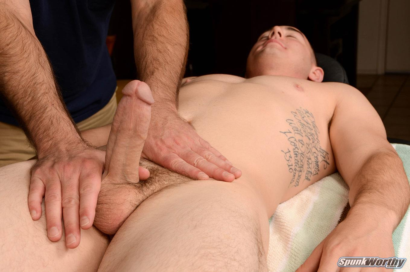 SpunkWorthy-Damian-Straight-Marine-Gets-a-Handjob-From-A-Guy-Amateur-Gay-Porn-11 Straight 22 Year Old Marine Gets A Handjob From A Guy