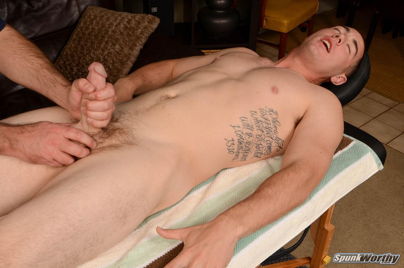 SpunkWorthy-Damian-Straight-Marine-Gets-a-Handjob-From-A-Guy-Amateur-Gay-Porn-14 Straight 22 Year Old Marine Gets A Handjob From A Guy