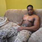 All American Heroes Sean Muscle Navy Petty Officer Jerking Big Black Cock Amateur Gay Porn 06 150x150 Big Muscular Black Navy Petty Officer Jerking His Big Black Cock