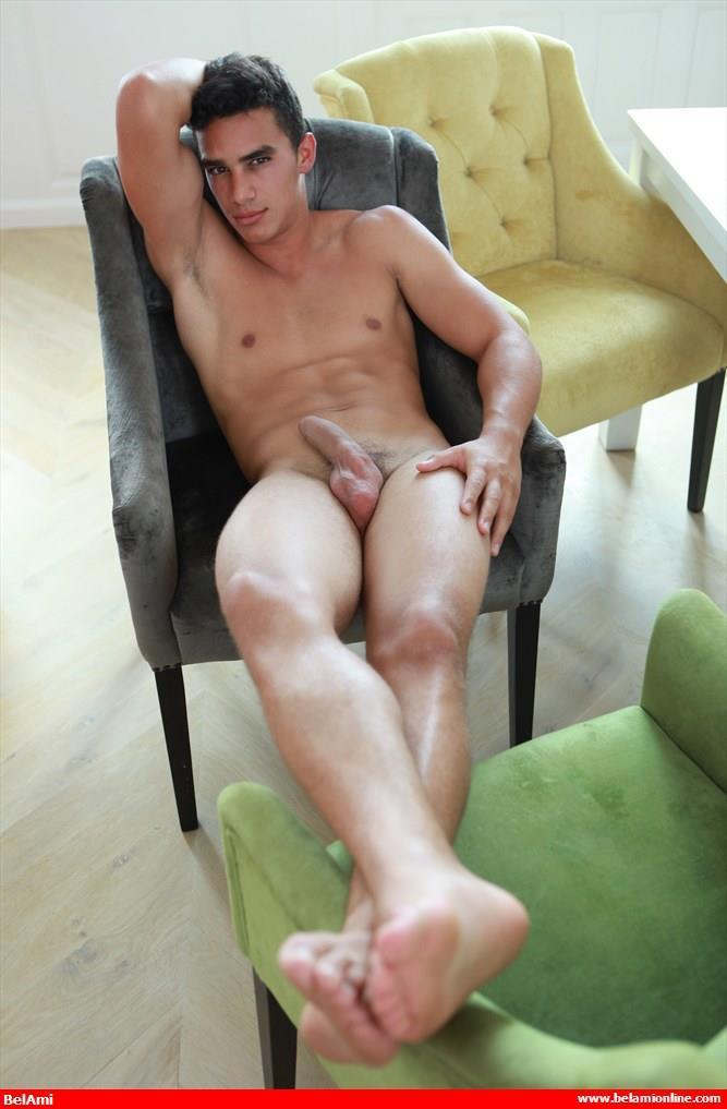 BelAmi-Miguel-Estevez-Mediterranean-Muscle-Hunk-With-Big-Uncut-Cock-Amateur-Gay-Porn-05 Mediterranean Muscle Hunk Strokes His Big Uncut Cock