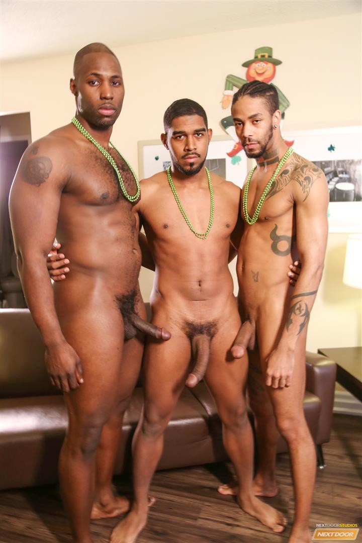 Next Door Ebony Nubius and Jin Powers and XL Naked Thugs Threeway Fucking Amateur Gay Porn 05 Big Black Cock Threeway Suck and Fuck Thug Fest