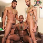 Next Door Ebony Nubius and Jin Powers and XL Naked Thugs Threeway Fucking Amateur Gay Porn 09 150x150 Big Black Cock Threeway Suck and Fuck Thug Fest