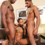 Next Door Ebony Nubius and Jin Powers and XL Naked Thugs Threeway Fucking Amateur Gay Porn 14 150x150 Big Black Cock Threeway Suck and Fuck Thug Fest