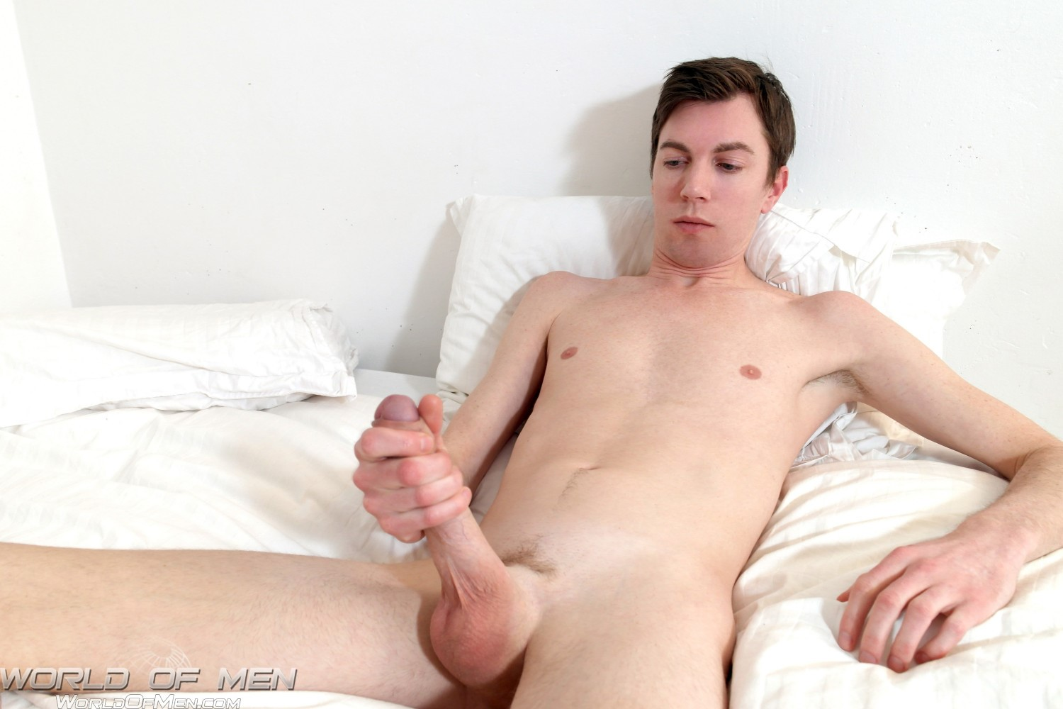 World-of-Men-Bjorn-Swedish-Twink-With-A-Big-Uncut-Cock-Amateur-Gay-Porn-09 Swedish Twink Fingers His Ass And Jerks His Big Uncut Cock