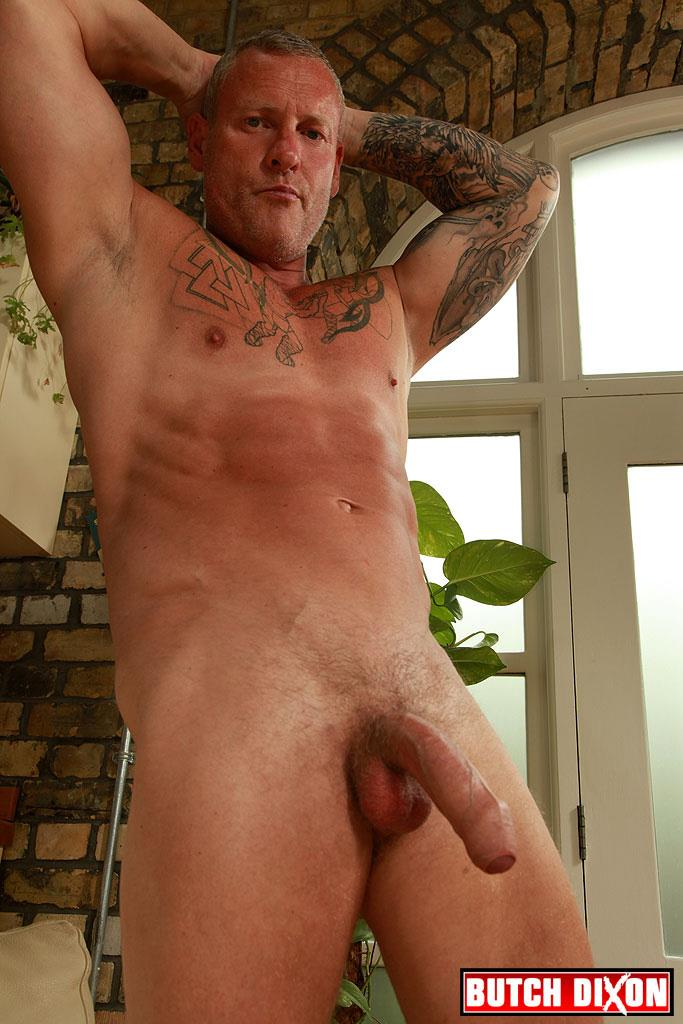 "Butch Dixon Big T British Muscle Daddy With A Big Uncut Cock Amateur Gay Porn 22 British Muscle Daddy Jerking Off His Big 9"" Uncut Cock"