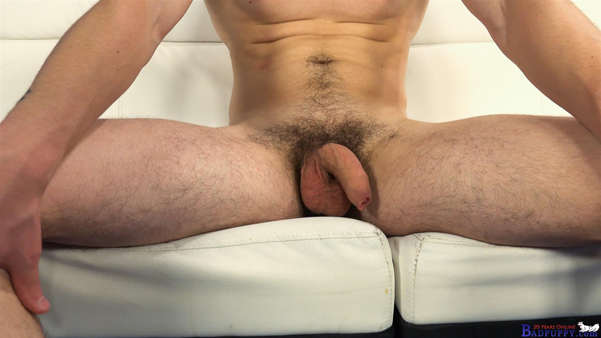 Valer-Starek-Badpuppy-Masturbation-Big-Uncut-Cock-Hairy-Ass-Amateur-Gay-Porn-04 Young Czech Guy Auditions For Gay Porn With His Big Uncut Cock And Hairy Ass