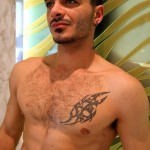 Bentley Race Aro Damacino Big Arab Cock Masturbation Bareback Sex Party Amateur Gay Porn 05 150x150 Muscular Middle Eastern Hunk Strokes His Big Arab Cock