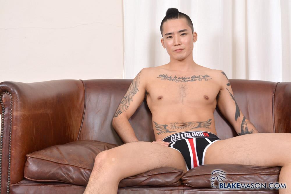 Blake-Mason-Yoshi-Kawasaki-Asian-Twink-Jerking-Off-Amateur-Gay-Porn-06 Japanese Twink Stroking His Big Asian Cock