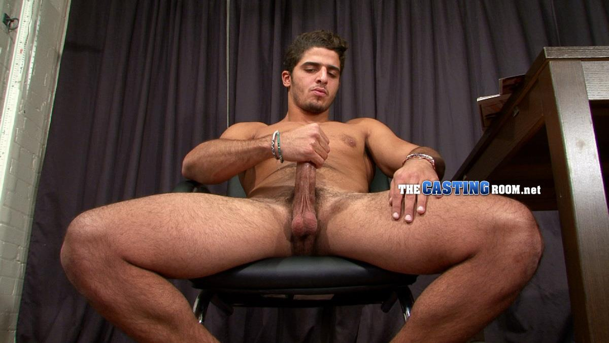The Casting Room Hossam Naked Arab Jerking Big Arab Cock Amateur Gay Porn 14 Straight Arab Auditions For Porn and Jerks His Hairy Cock