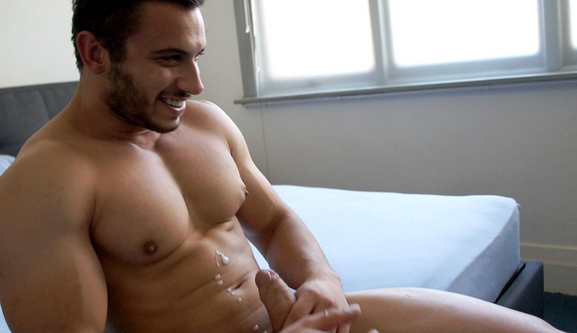 Bentley-Race-James-Nowak-Beefy-Straight-Muscle-Hunk-Jerks-His-Big-Uncut-Cock-Amateur-Gay-Porn-28 Straight Australian Beefy Muscular Guy Strokes His Thick Uncut Cock