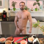 Maskurbate Muscle Hunk With A Big Uncut Cock Jerking Off Amateur Gay Porn 06 150x150 The Naked Chef Jerks His Big Uncut Cock In The Kitchen
