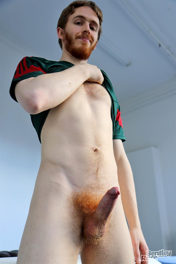 Bentley-Race-Tomas-Kyle-Redheaded-Jock-With-A-Big-Uncut-Cock-12 Ginger Jock Busts Out His Big Uncut Cock And Hairy Balls