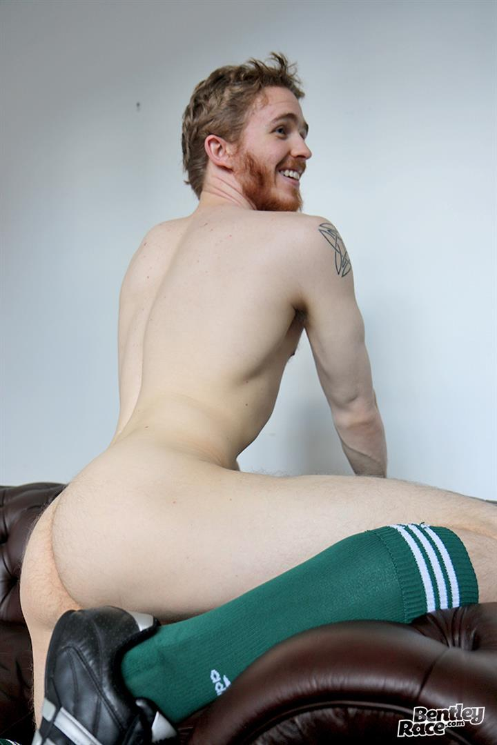 Bentley-Race-Tomas-Kyle-Redheaded-Jock-With-A-Big-Uncut-Cock-14 Ginger Jock Busts Out His Big Uncut Cock And Hairy Balls
