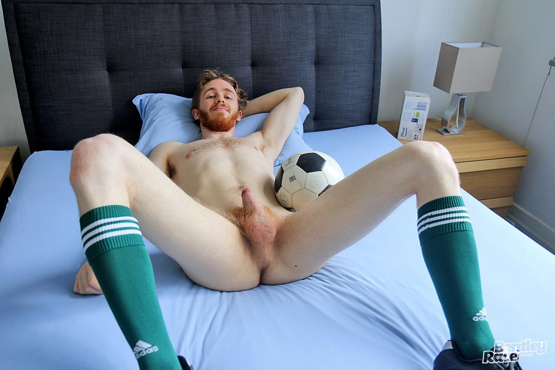 Bentley-Race-Tomas-Kyle-Redheaded-Jock-With-A-Big-Uncut-Cock-23 Ginger Jock Busts Out His Big Uncut Cock And Hairy Balls