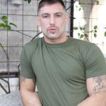 Active-Duty-Calvin-Naked-Muscular-Marine-Jerk-Off-03-150x150 Muscular Inked Up Marine Jerks His Big Dick Until He Cums