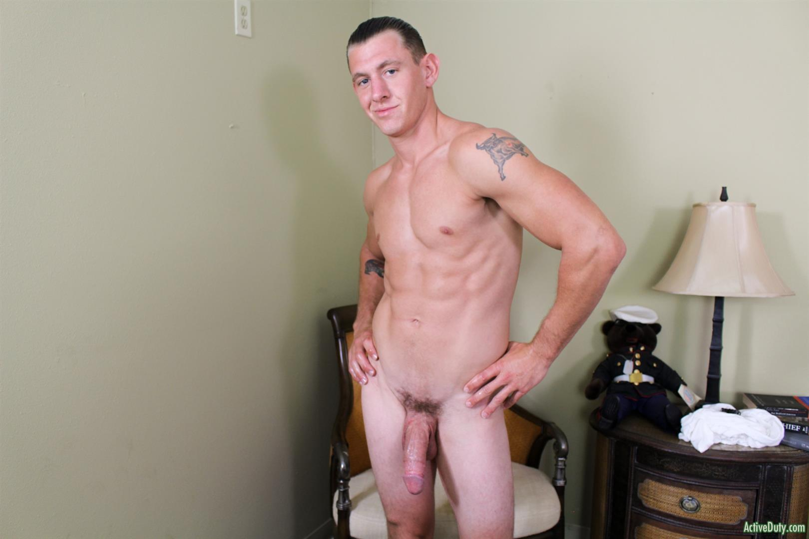 Active-Duty-Phoenix-River-Navy-Guy-With-A-Big-Cut-Cock-Jerking-Off-08 Muscular Navy Hunk Shows Off And Strokes His Huge Horse Cock