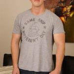 SpunkWorthy-Robert-Straight-Jock-Jerking-Off-01-150x150 21-Year Old Straight Muscle Jock Busts Out A Load